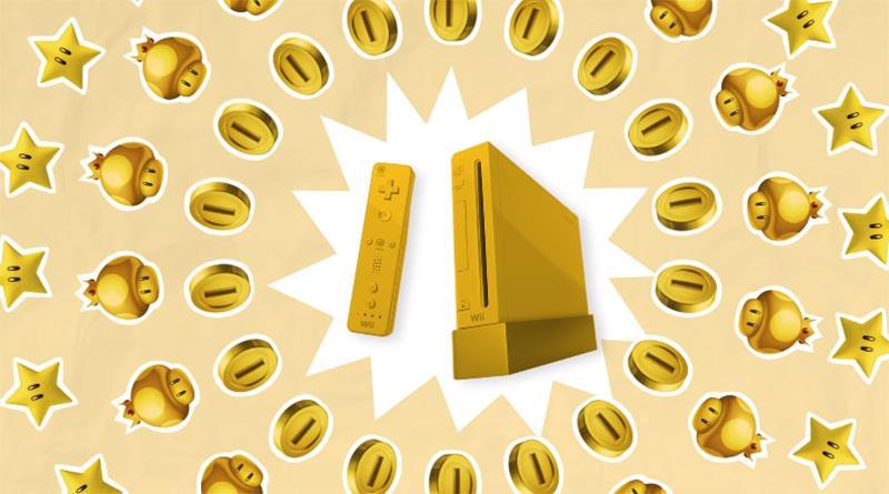 Nintendo Wii e la versione dorata destinata alla regina Elisabetta