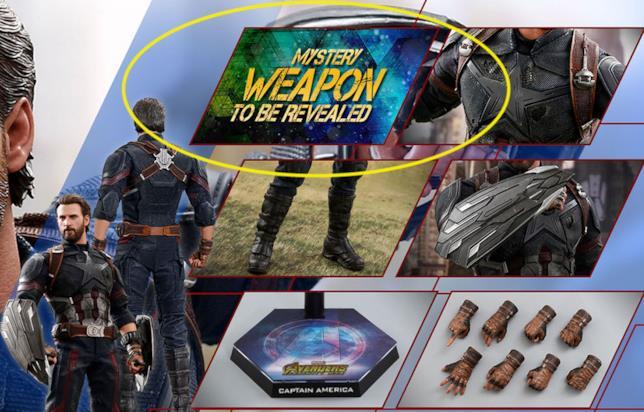 Quale sarà l'arma misteriosa nel set di Captain America?