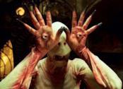 Una delle misteriose creature de Il Labirinto del Fauno