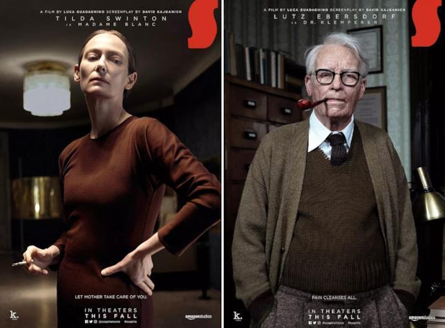 Collage di poster con Madame Blanc e col dottor Klemperer