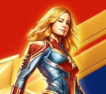 Poster dedicato a Capitan Marvel
