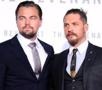Leonardo DiCaprio e Tom Hardy alla prima di Revenant - Redivivo
