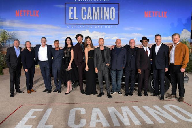 Il cast di Breaking Bad si riunisce per la première di El Camino