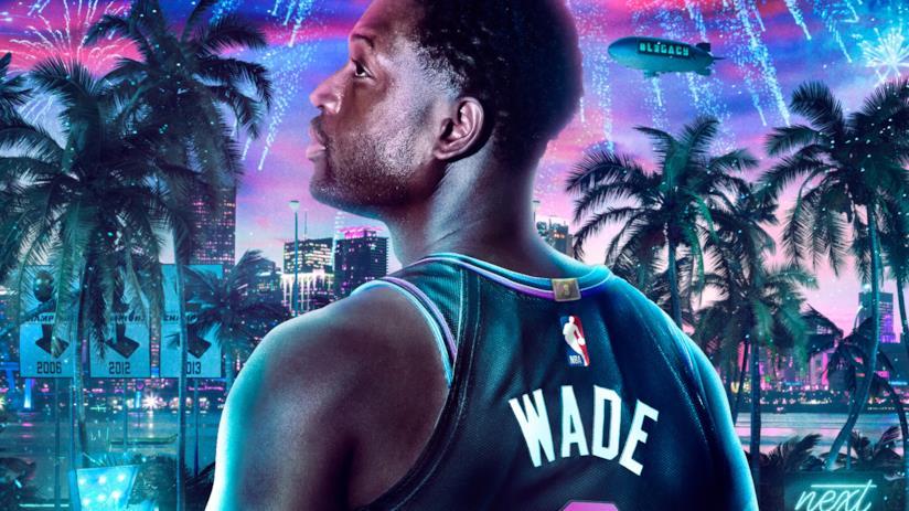 Wade sulla copertina di NBA 2K20