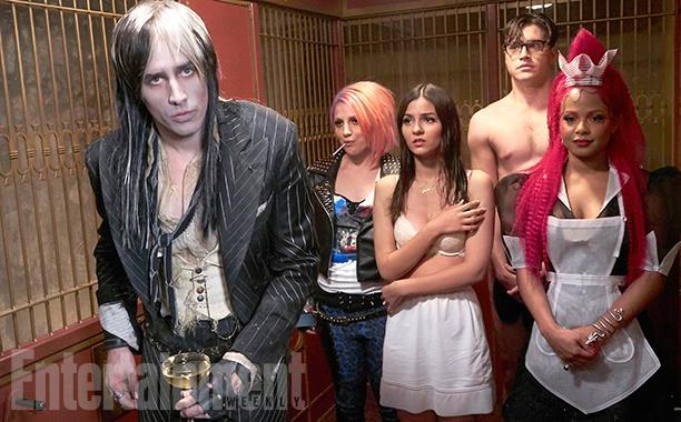 I membri del cast del Rocky Horror Picture Show