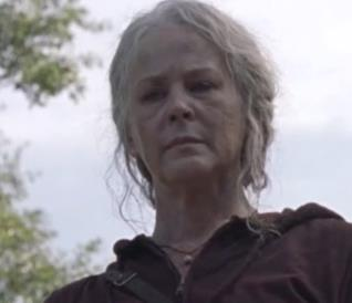 Carol in The Walking Dead 10x01