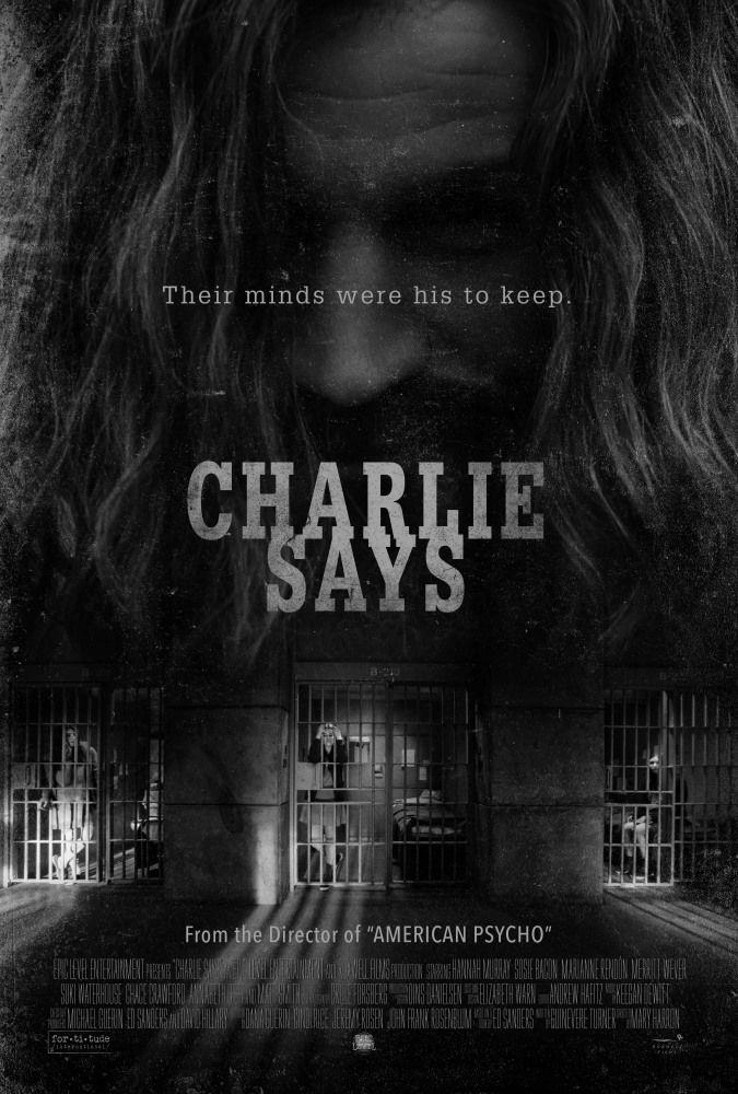 Poster originale del film Charlie Says di Mary Harron