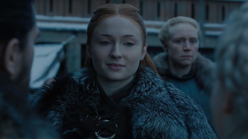 Il non proprio caldo benvenuto di Sansa a Daenerys