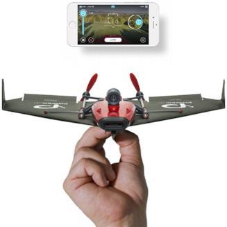 PowerUp FPV l'aeroplanino di carta telecomandato