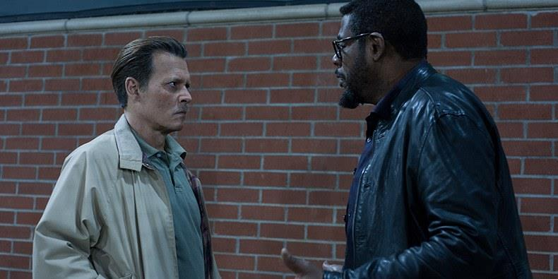 Johnny Depp e Forest Whitaker in City of Lies