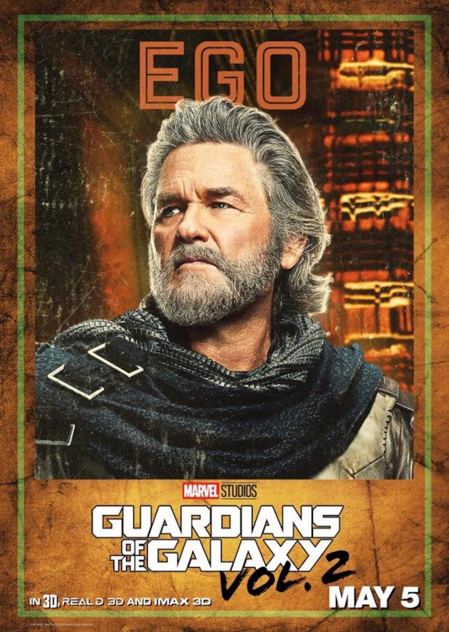 Guardiani della Galassia Vol. 2: Kurt Russell aka Ego