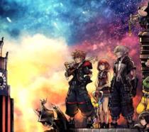 I protagonisti di Kingdom Hearts III in un concept art di Tetsuya Nomura