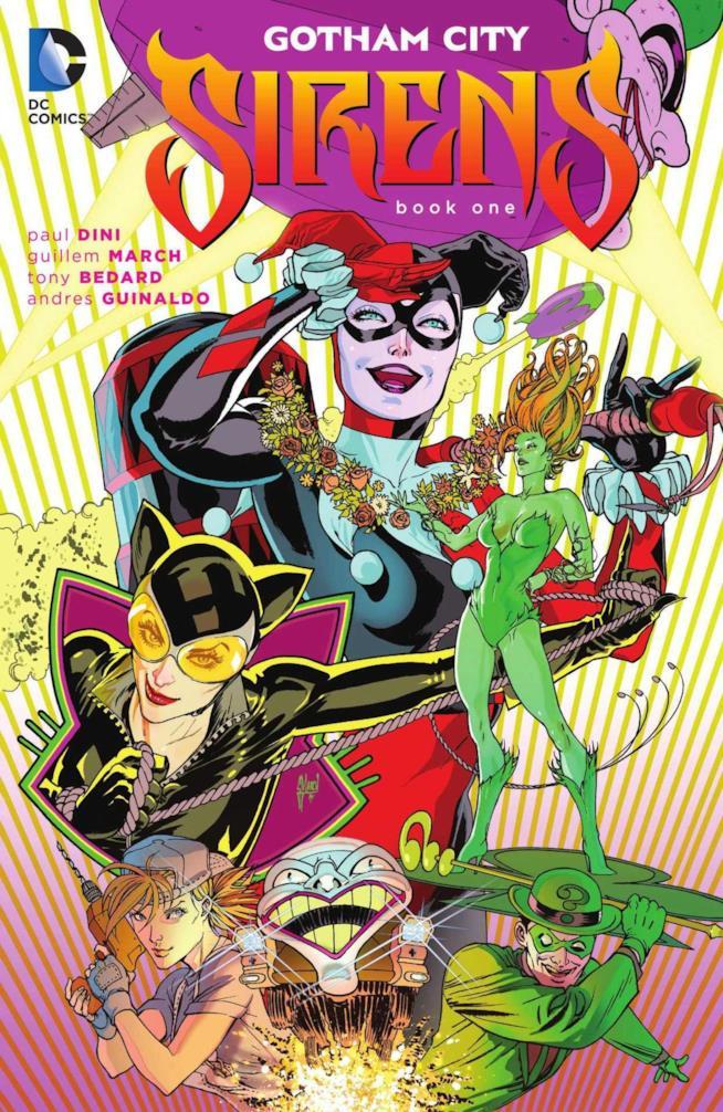 Il primo volume del comic Gotham City Sirens