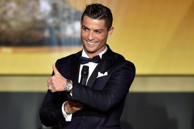 Il calciatore Cristiano Ronaldo