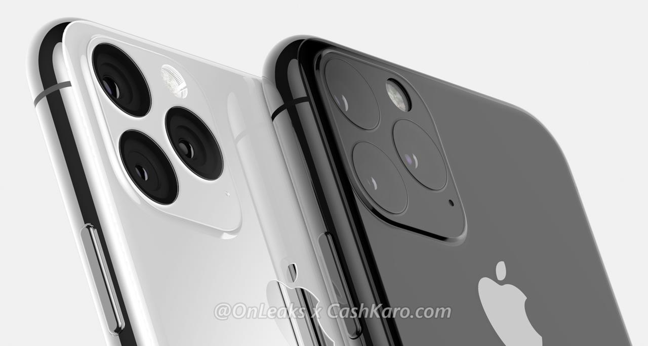 Render di iPhone XI e XI Max - 2