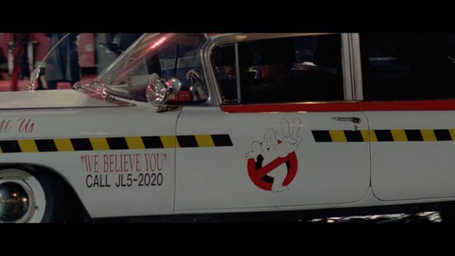 La Ecto-1a da Ghostbusters II