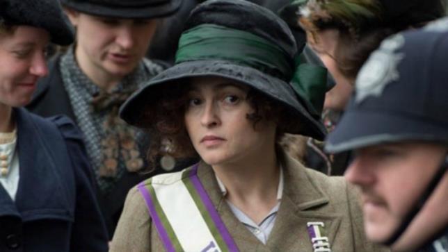 Helena Bonham Carter in una scena di Suffragette