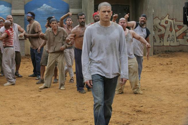 Michael Scofield in una scena