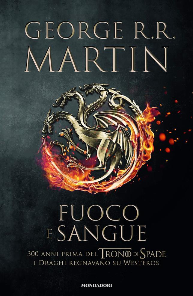 Copertina con lo stemma della casata Targaryen