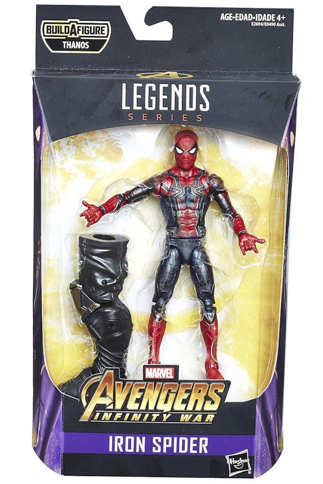 L'action figure Hasbro Legends di Iron Spider