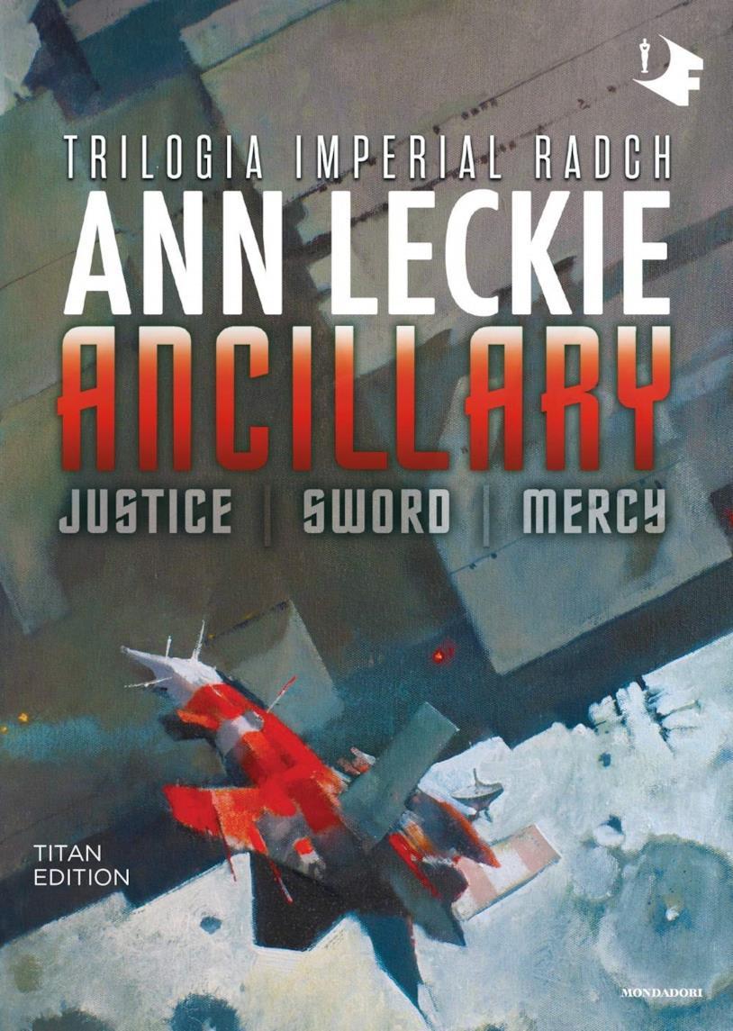 La copertina della Trilogia di Ancillary