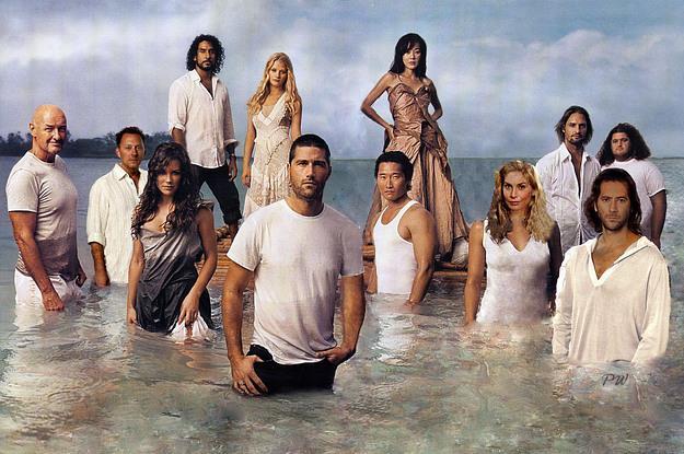 I personaggi di Lost immersi nel mare dell'isola