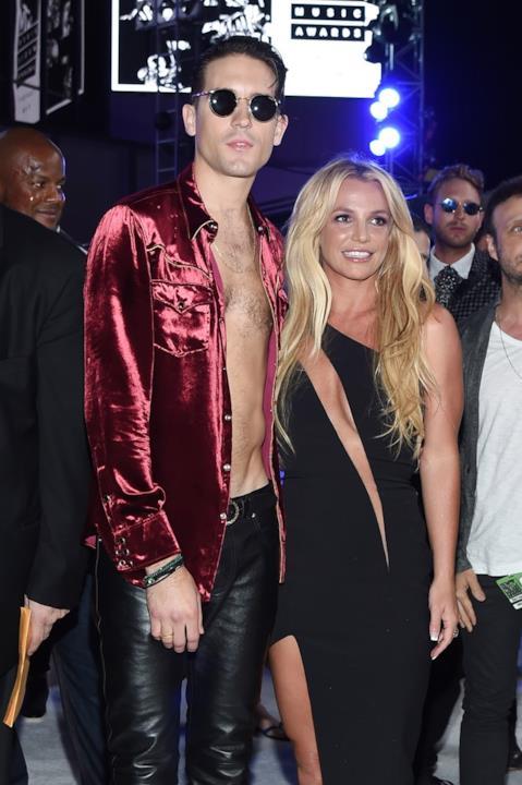 Britney Spears e G-Eazy agli MTV VMA 2016