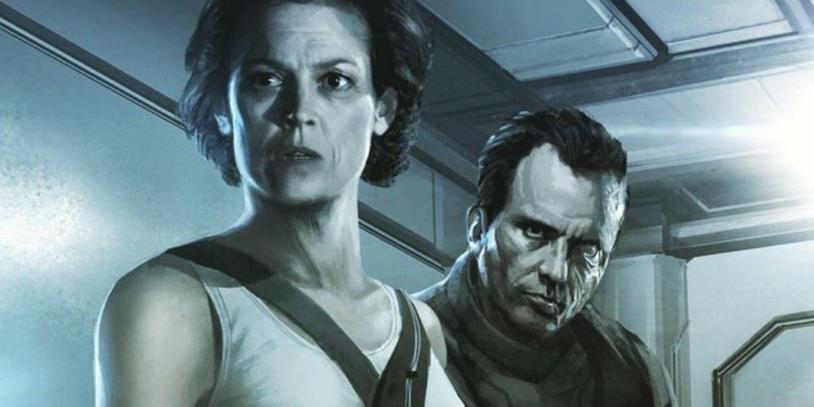 Bozzetto di Alien di Neil Blomkamp