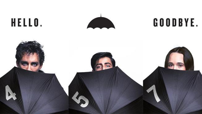 I protagonisti di Umbrella Academy
