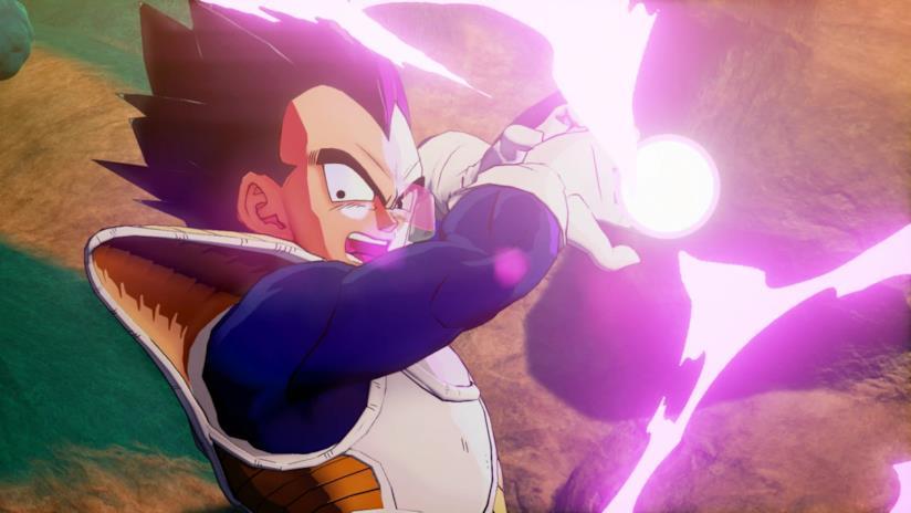 Onda energetica in Dragon Ball Z Kakarot per PS4, PC e Xbox One
