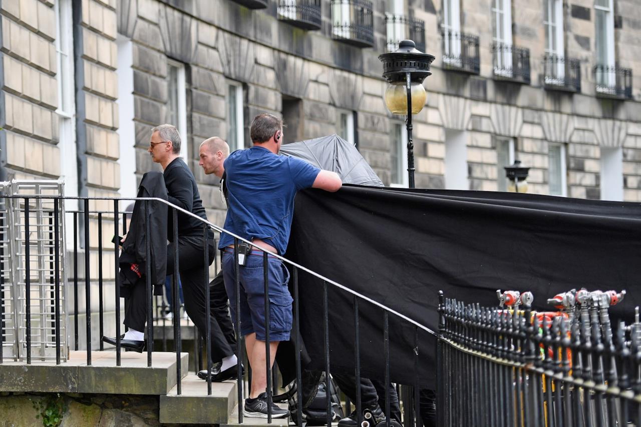 Il set del film Trainspotting 2 ad Edimburgo