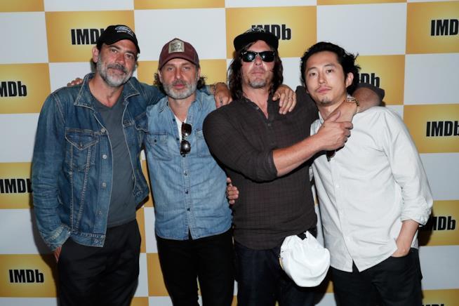 Alcuni dei protagonisti di The Walking Dead