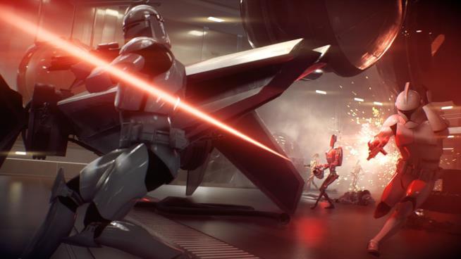 Stormtrooper combattono in Star Wars Battlefront 2