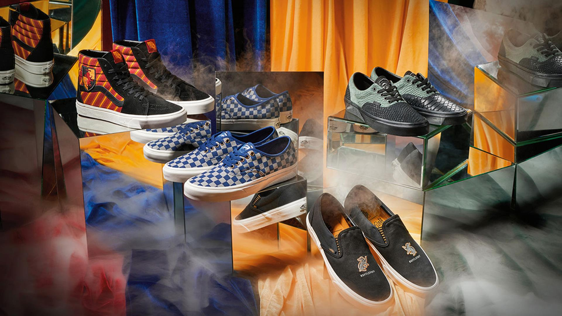 Vans x Harry Potter: le prime immagini delle scarpe ispirate