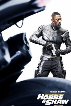 Brixton nel character poster di Hobbs & Shaw dedicato al suo personaggio