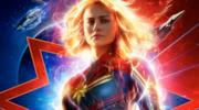 Poster ufficiale di Captain Marvel con Brie Larson