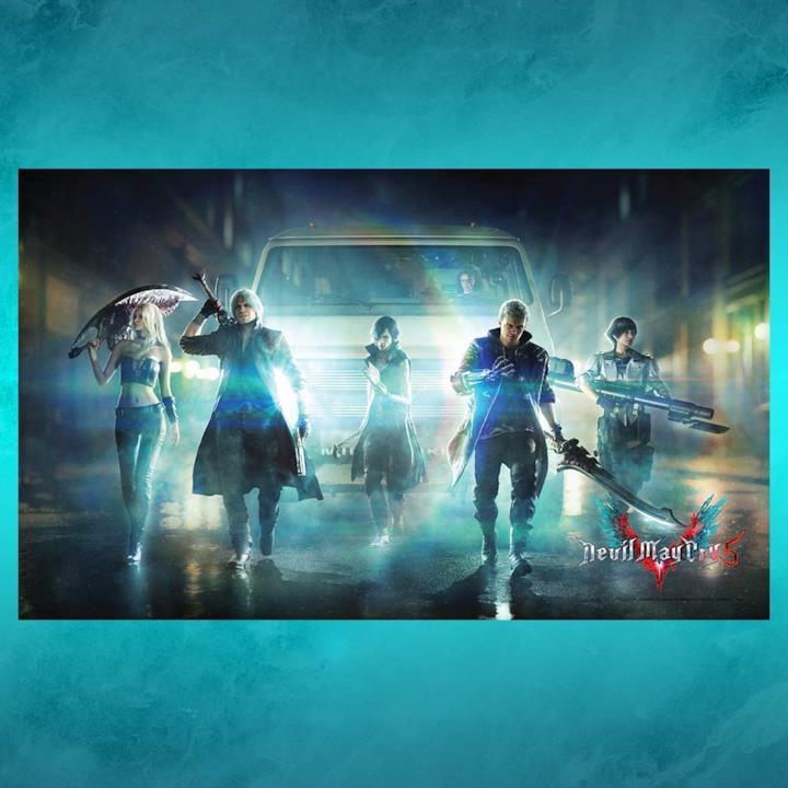 Il poster in tessuto di Devil May Cry 5