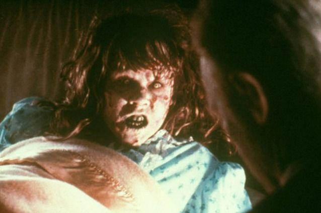 Scena dal film l'Esorcista