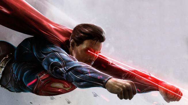 Superman in azione nel primo Injustice