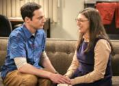Amy e Sheldon Cooper