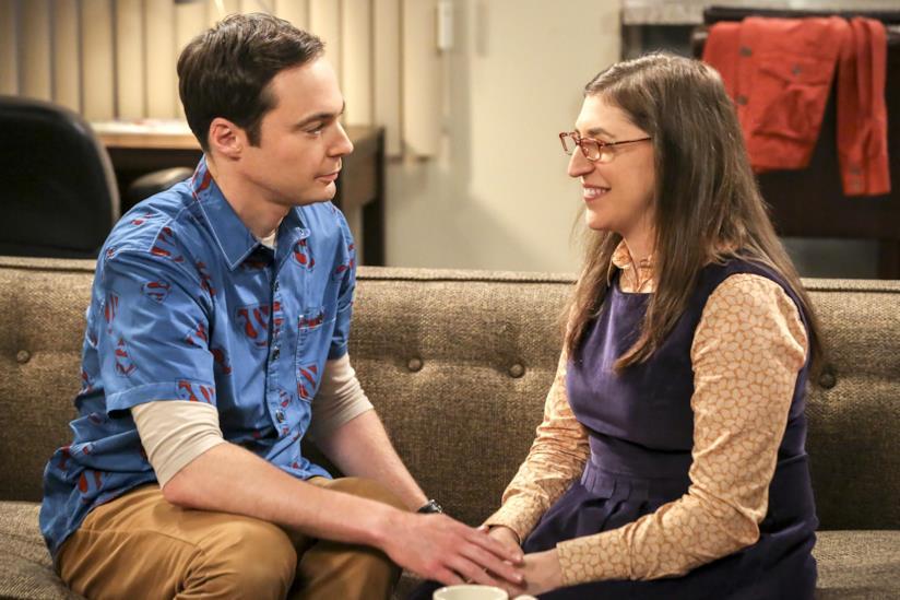 Amy e Sheldon Cooper
