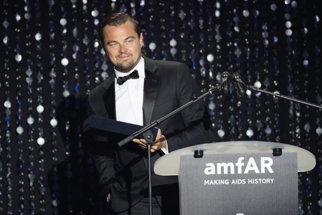 Primo piano di Leonardo DiCaprio