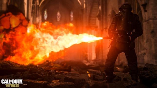 Call of Duty: WWII nella Seconda Guerra Mondiale