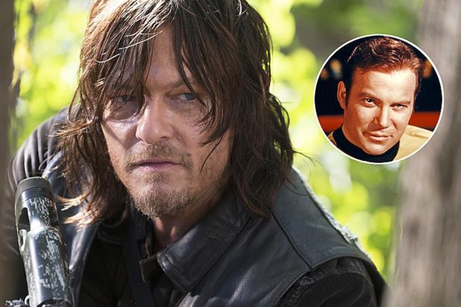 Daryl Dixon di The Walking Dead e il Capitano Kirk di Star Trek