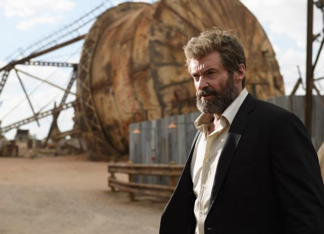 Hugh Jackman in una scena di Logan - The Wolverine