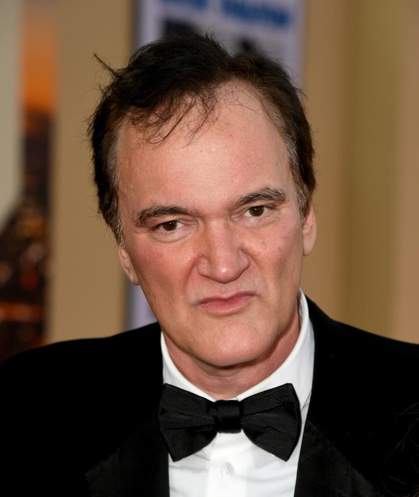 Un primo piano di Quentin Tarantino