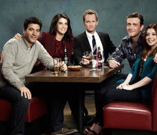 Il cast di How I Met Your Mother in una foto promozionale