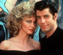 Sandy e Danny in una scena di Grease