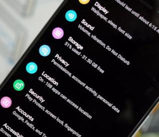 Impostazioni di Android