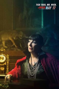 character poster di John Wick 3: Roma Ruska